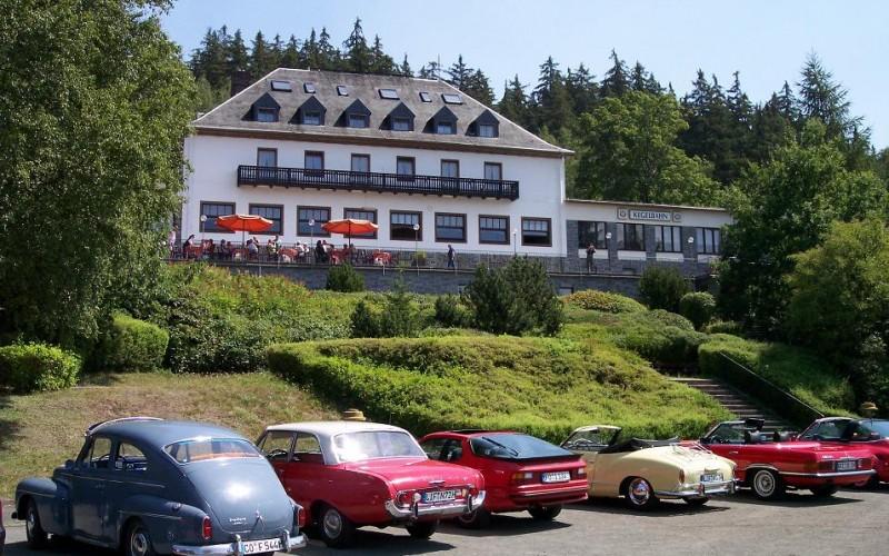 Außenanlagen Parkplatz unten