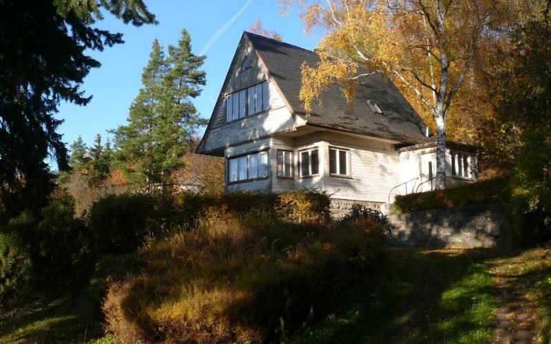 Holzhaus - Weitere Gebäude der Hotelanlage